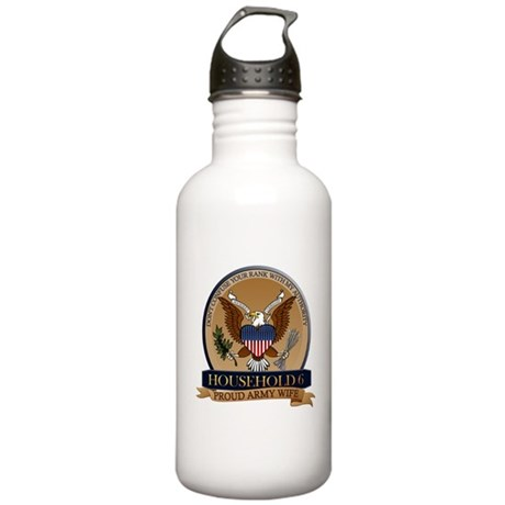 Household 6 - Army Wife Stainless Water Bottle 1.0