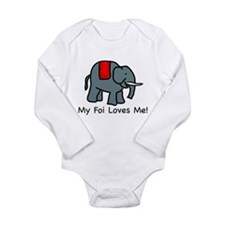 My Foi Loves Me Infant Creeper Body Suit