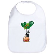 Boston on Ornament Bib
