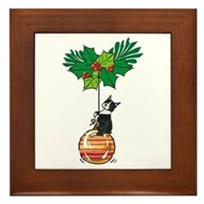 Boston on Ornament Framed Tile