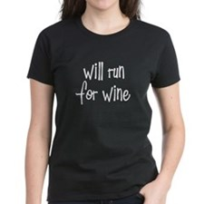 willrunforwine_white.png Tee