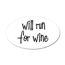 s_willrunforwine3.png Wall Decal