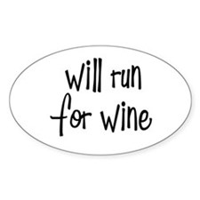 s_willrunforwine3.png Bumper Stickers