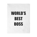 Worlds Best Boss Twin Duvet