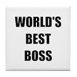 Worlds Best Boss Tile Coaster