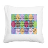 Florence Nightingale Quote Bag.PNG Square Canvas P