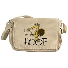 Talk to the Hoof Messenger Bag