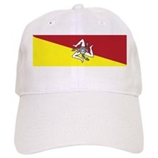 sicilian coat of arms.png Baseball Cap
