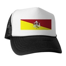 sicilian coat of arms.png Trucker Hat