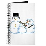 Snow family by Kristie Hubler Journal