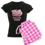 Maltese Mom Women's Dark Pajamas