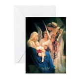 Song of the Angels 1881 Greeting Cards (Pk of 20)