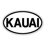 Kauai Decal
