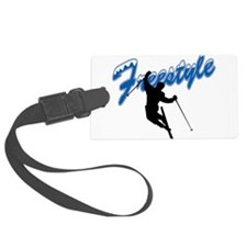 Freestyle Skiing Luggage Tag