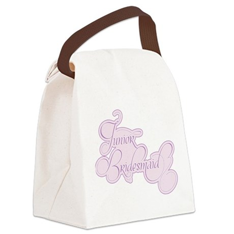 Amor Junior Bridesmaid.png Canvas Lunch Bag