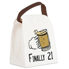 21 boy.png Canvas Lunch Bag