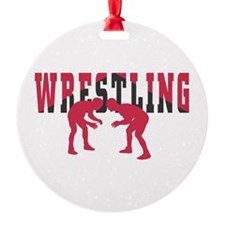 Wrestling 2 Ornament