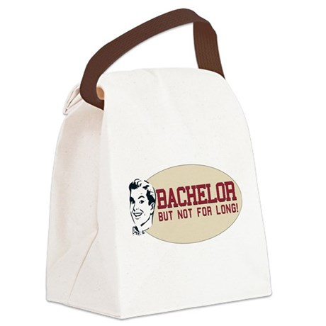 bachelor2.png Canvas Lunch Bag