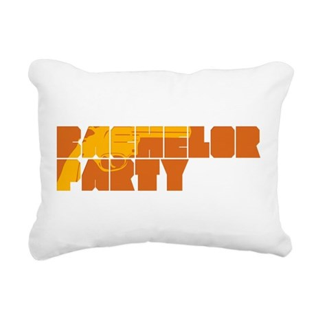 Mafia Bachelor Party.png Rectangular Canvas Pillow