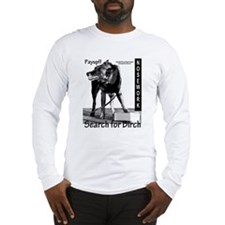 Nosework search for birch Malinois Long Sleeve T-S