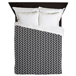 Metallic Grill Queen Duvet