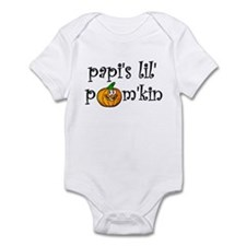 Papi's Lil Pum'kin Infant Creeper