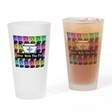 Going with the Flo.PNG Drinking Glass