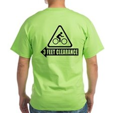 Cyclist Safety Shirt - 3 Feet Clearance - USA