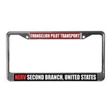 """Eva Pilot Transport""License Plate Frame"