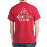 Cyclist Safety Shirt - 3 Feet Clearance LAW - USA