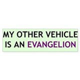 """My Other Vehicle"" Bumper Bumper Stickers"