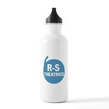 R-S Logo Blue Water Bottle