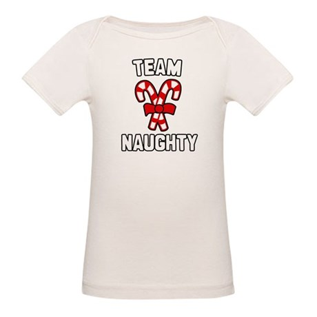 Team Naughty Organic Baby T-Shirt