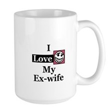 I Love My Ex-wife Mug