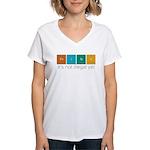Think! Women's V-Neck T-Shirt