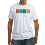 Think! Fitted T-Shirt
