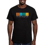 Think! Men's Fitted T-Shirt (dark)