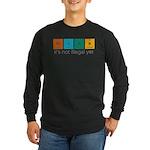 Think! Long Sleeve Dark T-Shirt