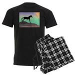 desert horse colors.png Men's Dark Pajamas