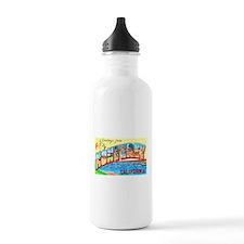 Monterey California Greetings Water Bottle