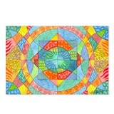 Sacred Geometry Watercolor Postcards (Package of 8