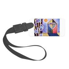 House and Home Luggage Tag