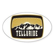 Telluride Sunshine Patch Decal