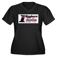 CJ Rayburn Race Cars Logo Women's Plus Size V-Neck