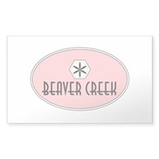 Beaver Creek Retro Patch Decal