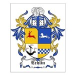 Echlin Coat of Arms Small Poster