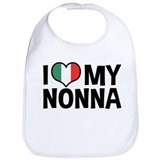 I Love My Nonna Bib