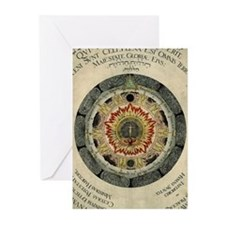 Cosmic Rose Greeting Cards (Pk of 10)