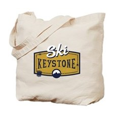 Ski Keystone Patch Tote Bag