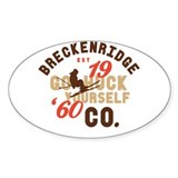 Huck Yourself Breckenridge Decal